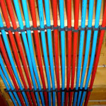 PEX can absorb chemicals and leach chemicals back into your water
