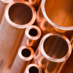 Water untreated will break down new copper pipe and start the pinhole making process again