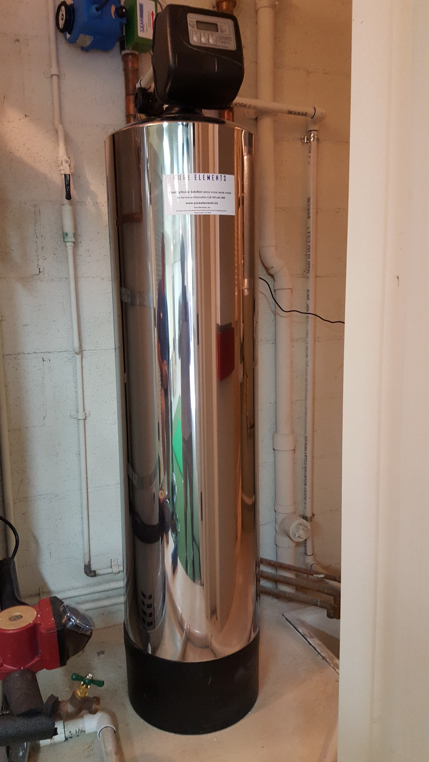 Family Chooses Quality Home Water Filter in Pelican Hill Newport Beach CA