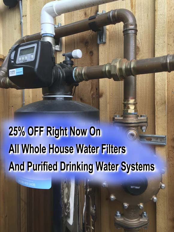 25% Off Whole House Filters